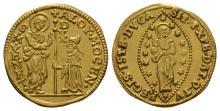World-Venice-Alvise III Mocenigo-Gold Zecchini
