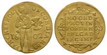 World Coins-Netherlands-1802-Gold Trade Ducat