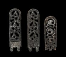 Germanic Openwork Strap End Group