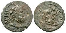 Greek Coins-Termessos Major-Pisidia-Tyche Bronze