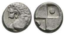 Greek Coins - Thrace - Chersonessos - Hemidrachm