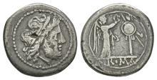 Republican-Anonymous-Sicily- Jupiter Victoriatus