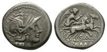 Republican - Atilius Saranus - Victory Denarius