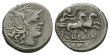 Republican Coins - C Maianius - Victory Denarius