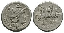 Republican Coins - L Sepmpronius Pitio - Denarius