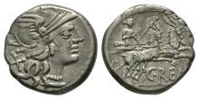 Republican Coins - C Renius - Juno Denarius