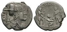 Republican Coins - Ti Vettius Sabinus - Denarius