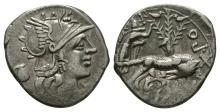 Republican Coins - Sex P. Fostlus - Twins Denarius