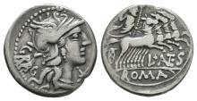 Republican Coins - L Antestius Gragulus - Denarius