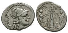 Republican Coins-C Minucius Augurinus-Denarius