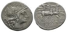 Republican Coins - Publius Calpurnius - Denarius