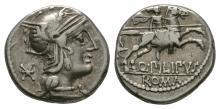 Republican Coins - Q Marcius Philippus - Denarius