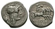 Republican Coins - C Cassius - Libertas Denarius