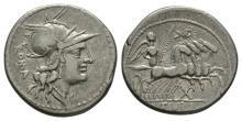 Republican Coins - M Tullius - Victory Denarius
