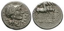 Republican - Cn Domitius Ahenobarbus - Denarius