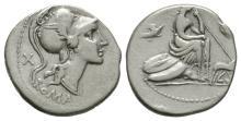 Republican Coins - Anonymous - Roma Denarius