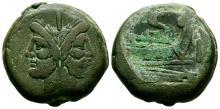 Republican Coins - Cast Coinage - Janus As