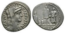 Republican - L Aemelius Lepidus Paulus - Denarius