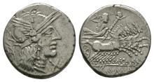 Republican Coins - M.Carbo - Jupiter Denarius