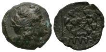 Ancient Greek Coins - Kallatis - Dionysos Bronze