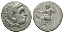 Greek Coins-Macedonia-Alexander III-Zeus Drachm