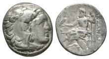 Greek - Macedonia-Alexander III-Zeus Drachms [4]