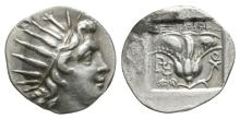 Ancient Greek Coins - Rhodos - Helios Drachm