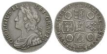 George II - 1741 - Roses Shilling