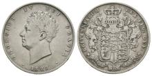 English Milled Coins - George IV - 1828 - Halfcrown