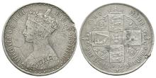 English Milled Coins - Victoria - 1862 Gothic Florin