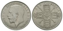 English Milled Coins - George V - 1925 - Florin