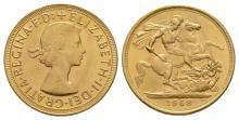 Elizabeth II - 1958 - Gold Sovereign