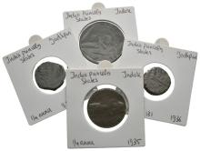 India - Indore and Jodphur - Coppers [4]