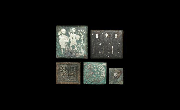 Byzantine Tabular Weight Collection