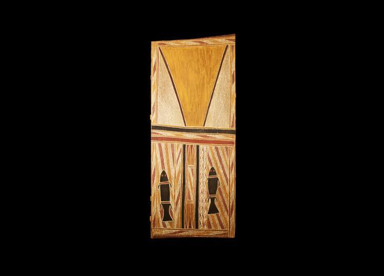 Aboriginal Mythology on Eucalyptus Bark
