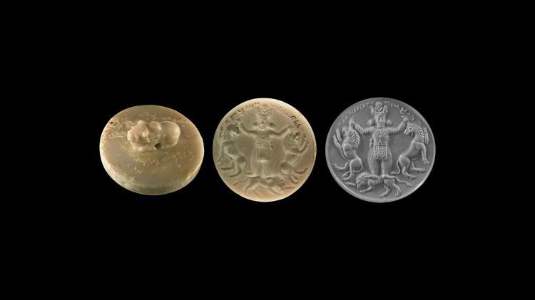 Western Asiatic Kushan Onyx Stamp Seal