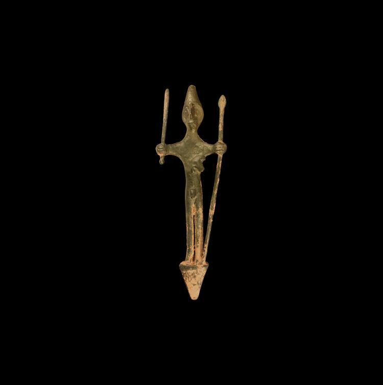 Western Asiatic Luristan Standing Deity Statuette