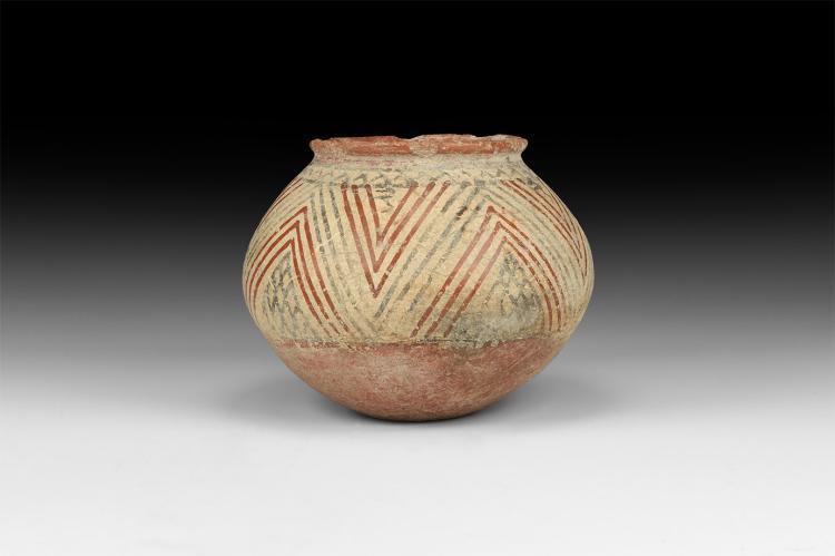 Western Asiatic Polychrome Bowl