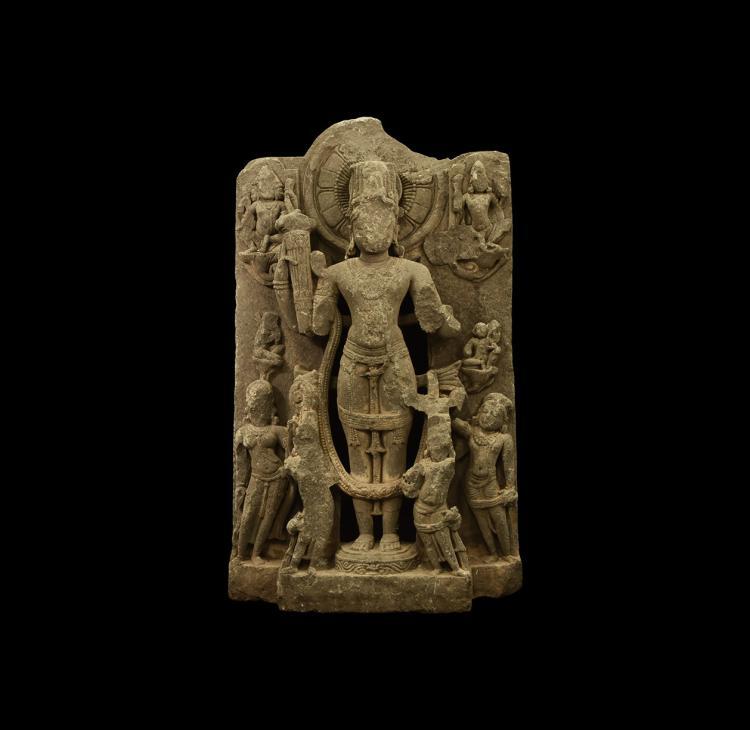 Indian Large Vishnu Panel