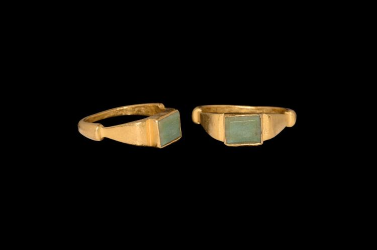 Medieval Gold Ring with 'Peridot'