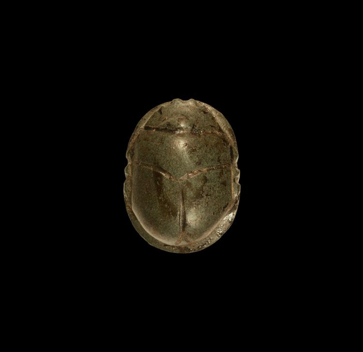 Egyptian Large Carved Scarab