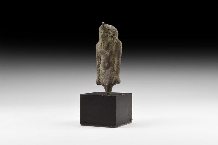 Egyptian Striding Pharaoh Figure
