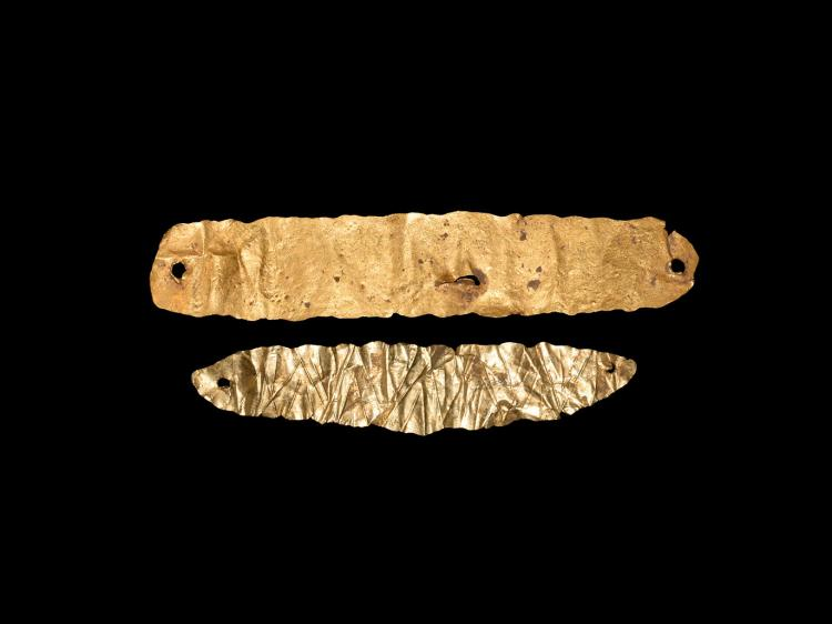 Greek Hellenistic Gold Wrist Ornament Group