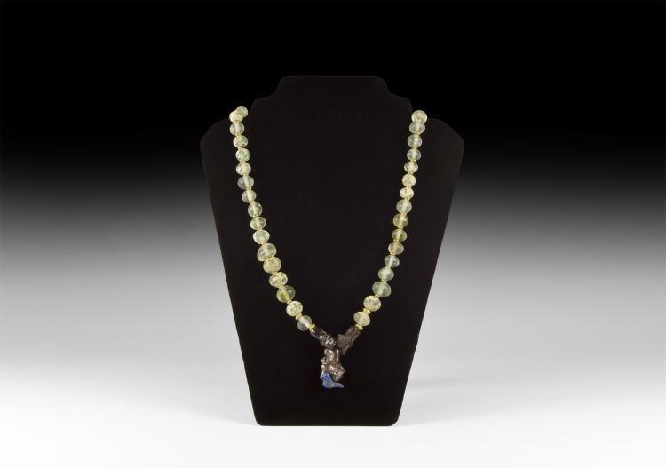 Parthian Glass Bead Necklace