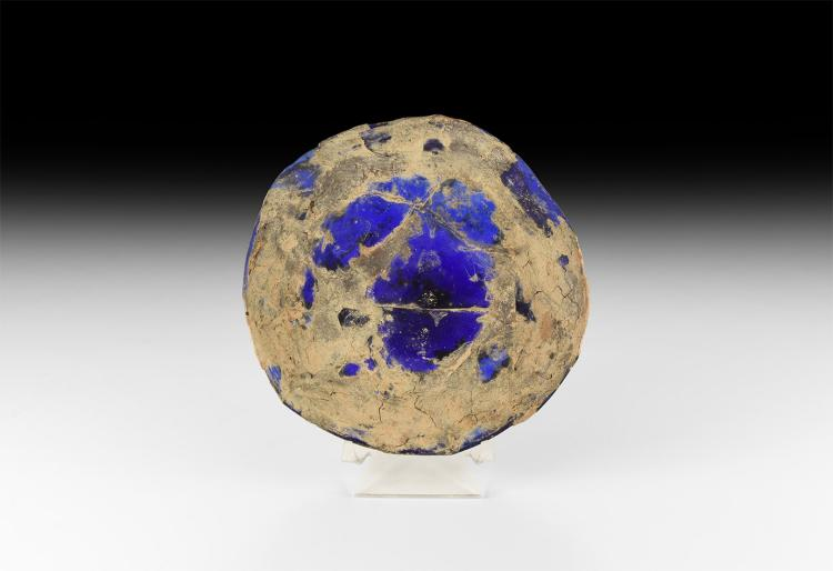 Roman Blue Glass Dish