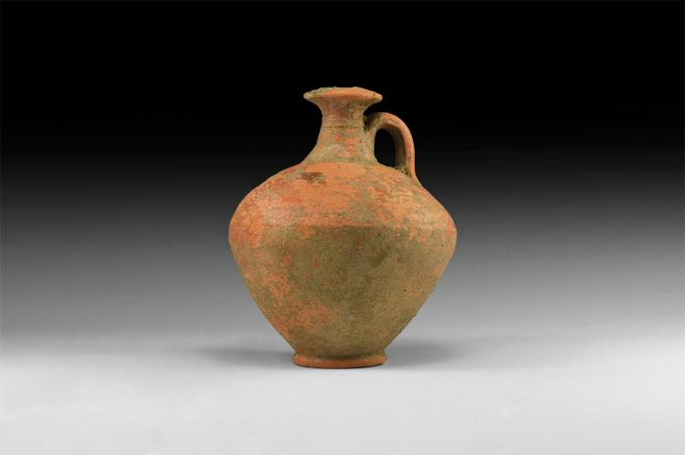Roman Redware Wine Flagon