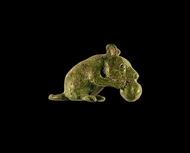 Roman Mouse Statuette