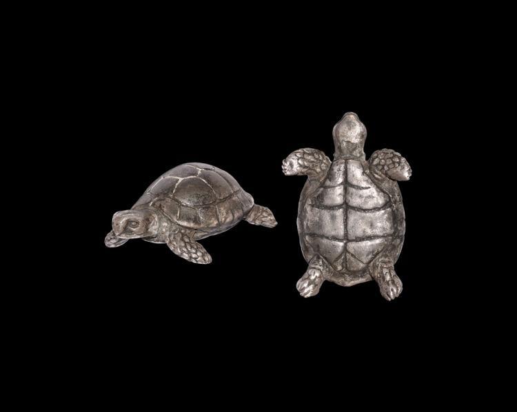 Roman Silver Tortoise Statuette