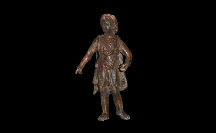Roman 'Alexander the Great' Statuette