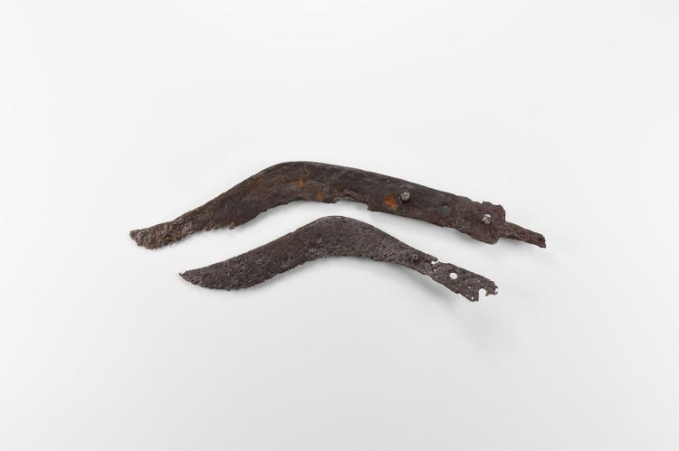Celtic Iron Age Danubian Dagger Pair